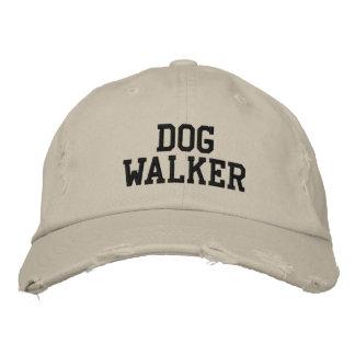 Marcheur de chien casquette brodée