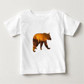 Marcheur de feu t-shirt pour bébé