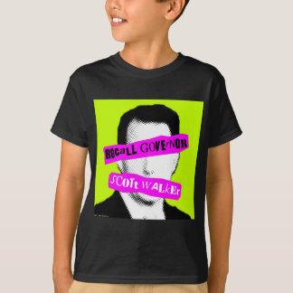 Marcheur de Scott du Gouverneur de rappel T-shirt