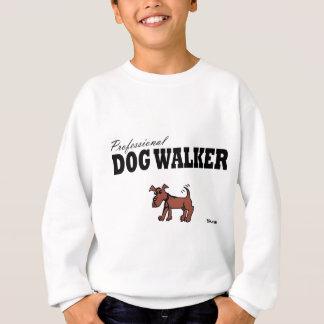 Marcheur professionnel de chien sweatshirt