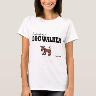 Marcheur professionnel de chien t-shirt