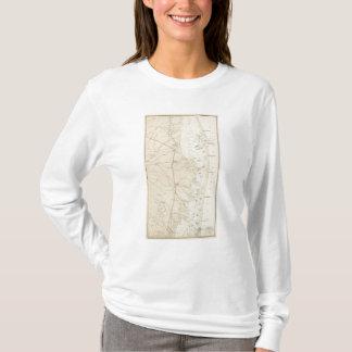 Marchez la baie de Barnegat de section à la carte T-shirt