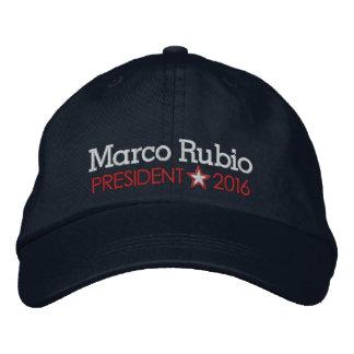 Marco Rubio 2016 Casquette Brodée