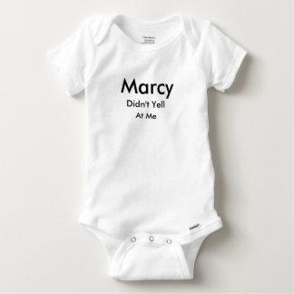 Marcy n'a pas hurlé à moi la chemise t-shirts
