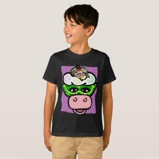 MARDI GRAS de BOY/GIRL - série de VACANCES de T-shirt