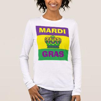 MARDI GRAS HEUREUX T-SHIRT À MANCHES LONGUES