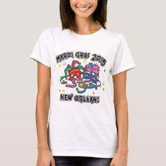 Mardi gras la Nouvelle-Orléans 2015 T-shirt