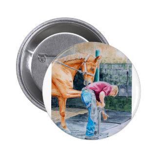 Maréchal-ferrant de cheval badges