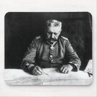 Maréchal Paul von Hindenburg, 1914 Tapis De Souris