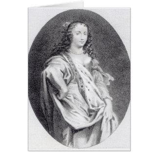 Margaret Cavendish, duchesse de Newcastle Carte De Vœux