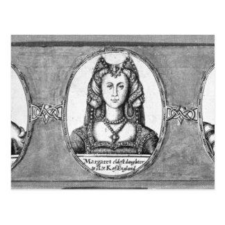 Margaret Tudor avec deux de ses maris Carte Postale