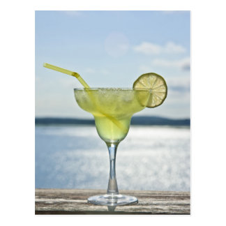 Margarita par la mer carte postale