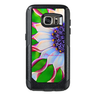 Marguerite africaine pourpre personnalisable coque OtterBox samsung galaxy s7