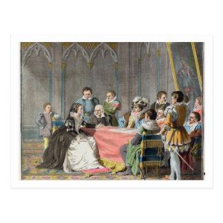 Marguerite de Valois (1553-1615) devant le S Cartes Postales