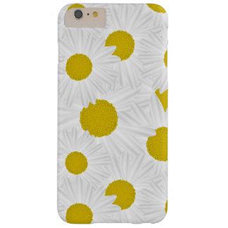 Marguerite des prés colorée de pourpre de motif coque barely there iPhone 6 plus