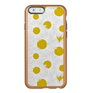 Marguerite des prés colorée de pourpre de motif coque iPhone 6 incipio feather® shine