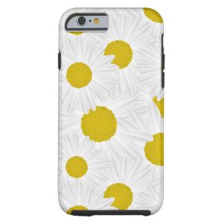 Marguerite des prés colorée de pourpre de motif coque iPhone 6 tough