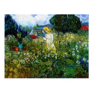 Marguerite des prés Gachet de Van Gogh dans le jar Carte Postale