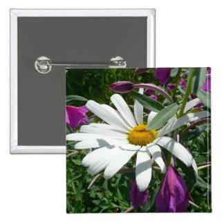 Marguerite et Fireweed Badges