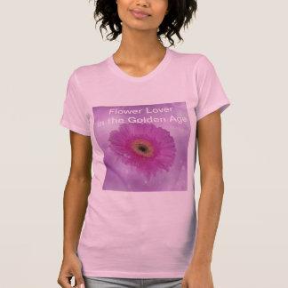 Marguerite rose et pourpre de gerber t-shirt