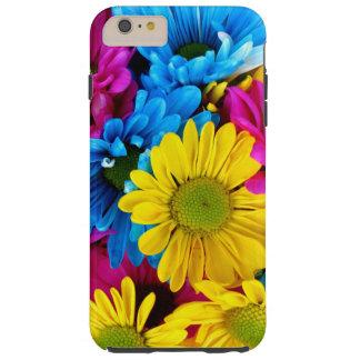 Marguerites, fleurs de floraison de marguerite - coque iPhone 6 plus tough