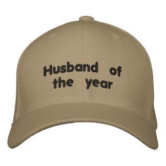Mari de l'année casquette brodée