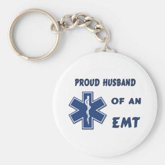 Mari fier d'un EMT Porte-clé Rond