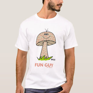 Mari ou hippie drôle d'ami de type d'amusement t-shirt