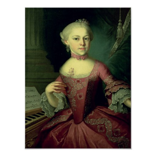 Maria Anna Mozart, appelée 'Nannerl Posters