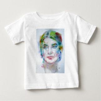 MARIA CALLAS - portrait d'aquarelle T-shirt Pour Bébé