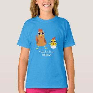 Maria et bandit les poulets t-shirt