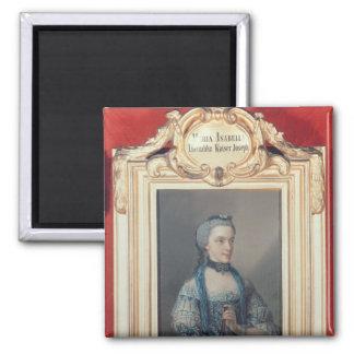 Maria Isabella de Parme Magnet Carré