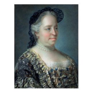 Maria Theresa, impératrice de l'Autriche, 1762 Cartes Postales