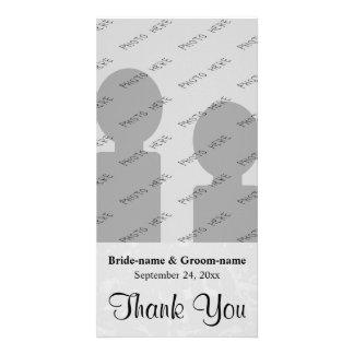 Mariage abstrait subtil gris en pastel d'arrière - photocarte