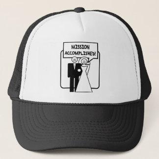 Mariage accompli de mission casquette