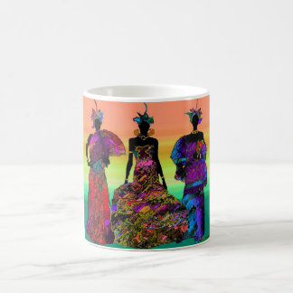Mariage africain mug blanc