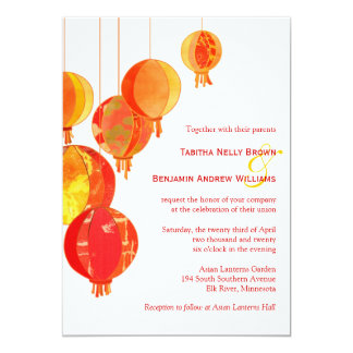Invitations for Jardin chinois 78
