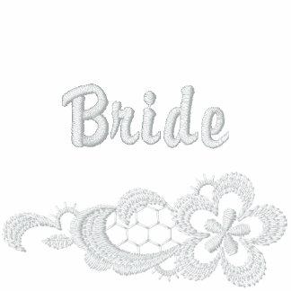 Mariage blanc de dentelle - jeune mariée
