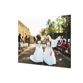 Mariage carnaval de Martinique Toile