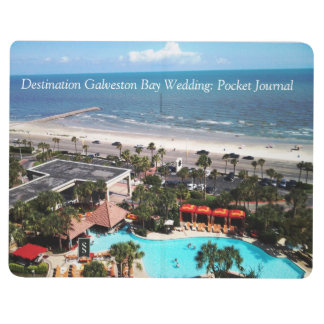 Mariage de baie de Galveston de destination : Carnet De Poche