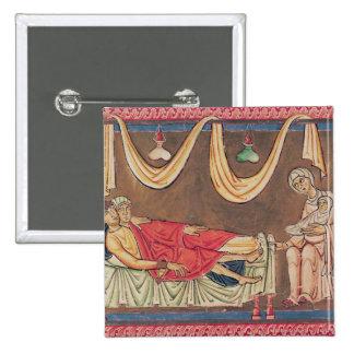 Mariage de Hosea et de la prostituée Badge Carré 5 Cm