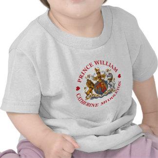 Mariage de prince William et Catherine Middleton T-shirt