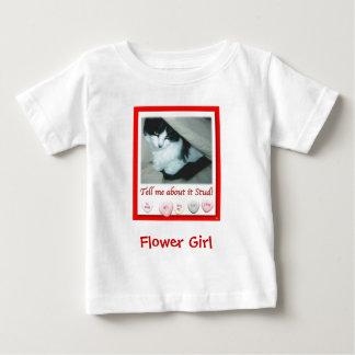 Mariage de Saint-Valentin de demoiselle de honneur T-shirts