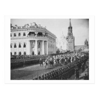 Mariage de tsar Nicholas (1868-1918) à Alexandra Carte Postale