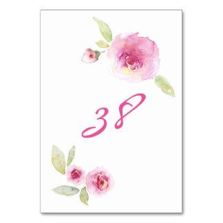 Mariage élégant de roses floraux d'aquarelle