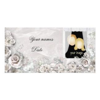 Mariage élégant photocartes