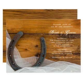 invitations faire part fer cheval personnalis s. Black Bedroom Furniture Sets. Home Design Ideas