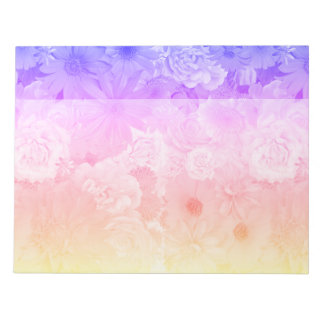 Mariage floral en pastel de Boho de fleurs de Blocs Notes