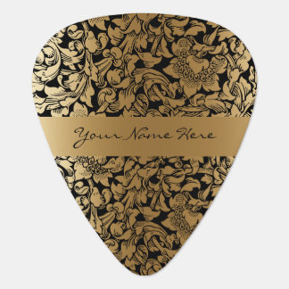 Mariage floral formel de noir et d'or onglet de guitare