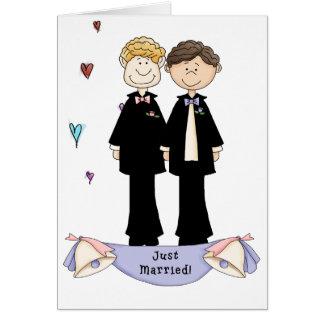 mariage homosexuel carte de vœux